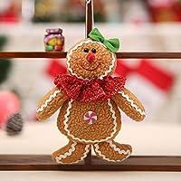Kurphy Árbol de Jengibre de Navidad Adornos de Navidad Árbol de Navidad Accesorios