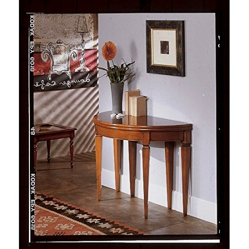 Estea mobili - tavolo consolle allungabile legno massello * table consolle wood made in italy * - h780 - come foto