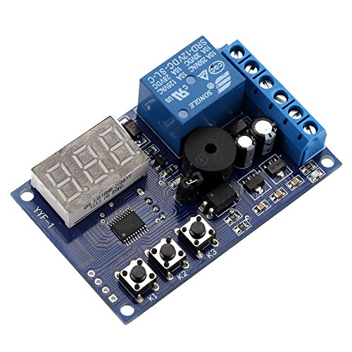 kkmoon Ladekabel Entlastung Spannung Monitor Test Schalter Relais Control Board Modul DC 12V