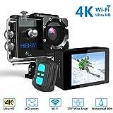 Hieha-H68-Cmara-Deportiva-4K-WIFI-Acuatica-Estabilizador-DV-sumergible-Hasta-30M-HDR-20MP-Amplio-ngulo-de-Visin-170-Chip-Sony-IMX078-Pantalla-LCD-de-2-Pulgadas-1050mAh-Compatible-con-Drones-Memora-Mxi