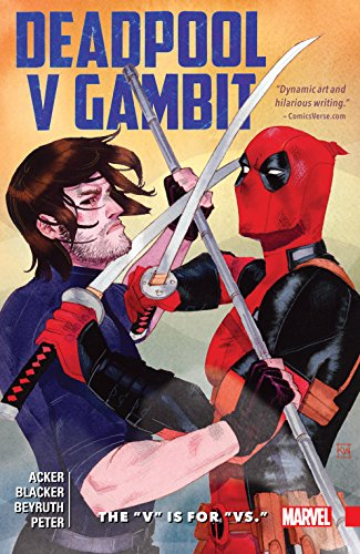 Gambit Superhelden - Deadpool v Gambit: The