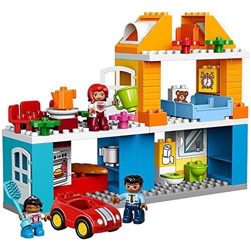 lego duplo 10835 familienhaus kleinkind spielzeug ab 2 jahren vos. Black Bedroom Furniture Sets. Home Design Ideas