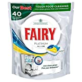Fairy Platinum All-in-One Lemon Dishwasher Tablets, 40 Tablets by Fairy