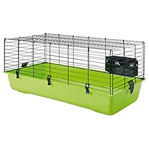 SAVIC Ambiente Animal Cage with Hay Rack, Small, 100 x 50 x 43 cm