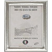 CORNICE Cornice per Foto Portafoto Argento Artigianale Made in Italy Foto ca.18x23 cm