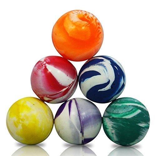 10x Gemischt Farbe Jet Bouncy Bälle (Bulk Balls Bouncy)