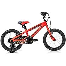 Monty 103 Bicicleta, Unisex Niños, Naranja, Talla Única