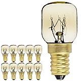 10PIECES/Pack SES E14Schraube Gap Pygmy Lampen 300Grad Mikrowelle/Backofen spezifische Night Leuchtmittel, E14 25.00W 240.00V