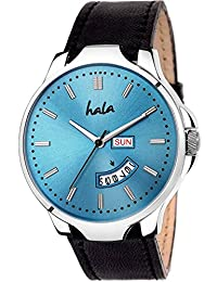 Hala 1140-BL Blue Day and Date Day and Date Watch - Men