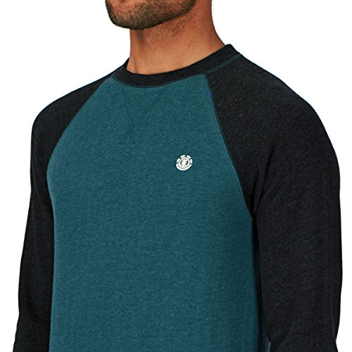 Herren Sweater Element Vermont Crew Sweater Charcoal Heather