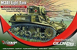 Mirage Hobby 726074 - M3A1 Tanque Ligero Unión Soviética Kuibishev, Tanques