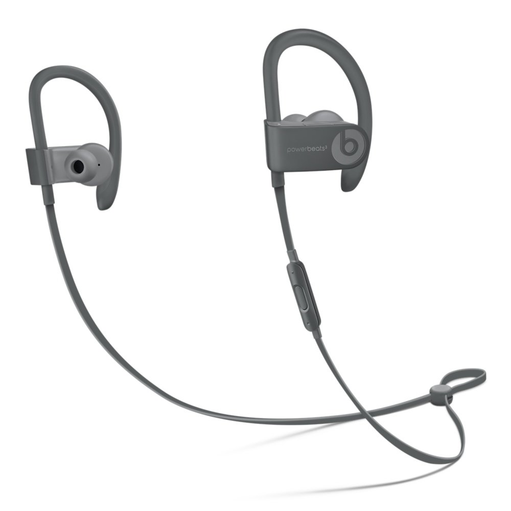Powerbeats3 Wireless Kopfhörer – Neighbourhood Collection – Asphaltgrau