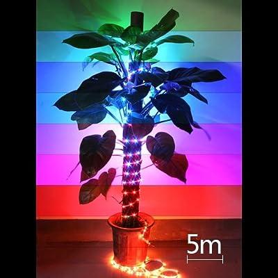 10m Set 2x5m 600 3528 SMD LED Lichterkette Lichtleiste Strip RGB DC 12V mit Fernbedienung