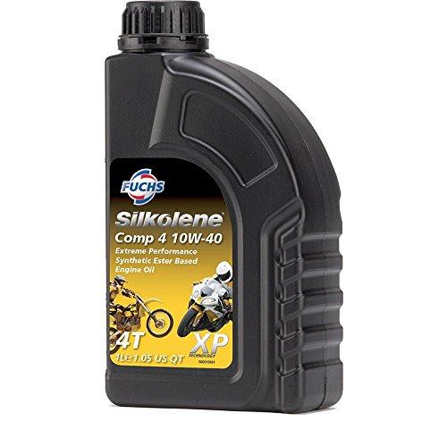 Silkolene OLIO MOTORE in Sintesi COMP 4 10w40 moto 4t 1 LT