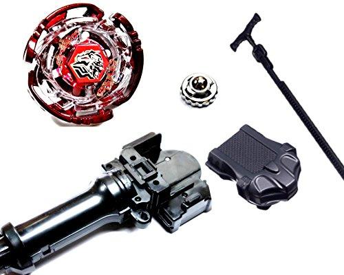 Rapidity® Kampfkreisel StarterSet Mega Metal Fusion für Beyblade Masters 4D (Cyber Pegasus)