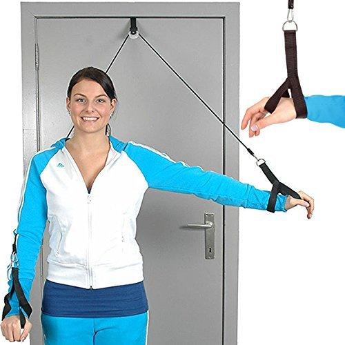 Hand Übung Web (MSD Seilzug Seil mit imbrago Hände Rehabilitation Schultertasche Shoulder Rope Pulley Hand Support)