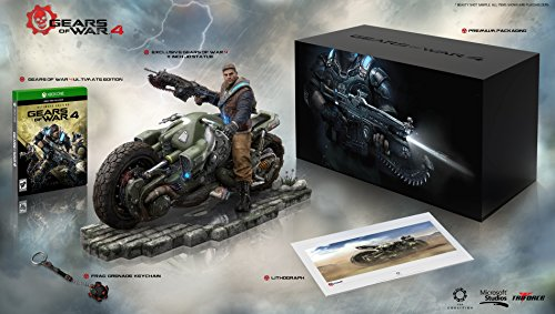 Amazon Exclusive: Gears of War 4 Collector's Edition - Outsider Variant (Includes Ultimate Edition SteelBook + Season Pass) - Xbox One (Xbox-pass)