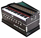 Sandhu Musicals 7 Stopper Double Bellow 39 Keys Harmonium Bass, Male Reed
