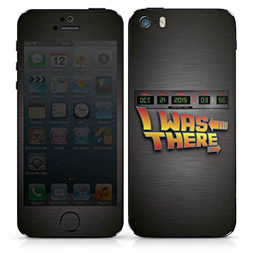 Apple iPhone SE Case Skin Sticker aus Vinyl-Folie Aufkleber Zukunft Future Marty DesignSkins® glänzend