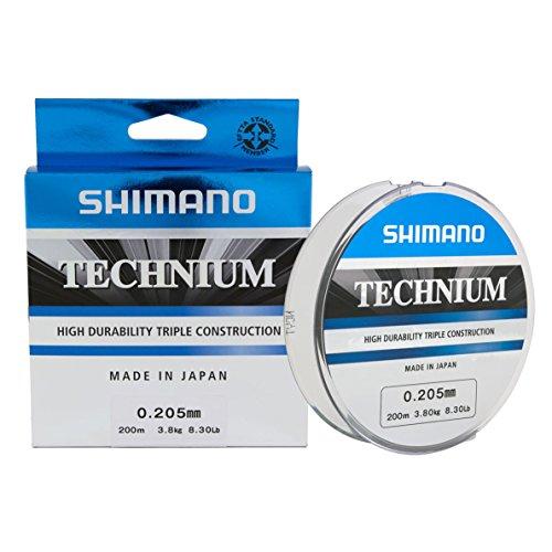 Shimano technium 200mt 0.185