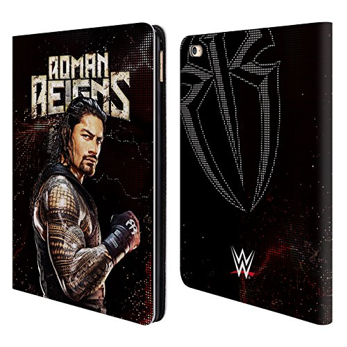 Offizielle WWE Roman Reigns Superstars Brieftasche Handyhülle aus Leder für iPad Air 2 (2014) (Ipad Air 2 Case-hulk)
