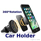 Air Vent Magnetic Phone Holder, CableSense Air Vent Magnetic Phone Mount Grip Magic Mobile Phone Car Cradle Universal Car Mount for iPhone X 8 7 6 6 Plus 5 Samsung S7 S6 Note Huawei and other Smartphones,
