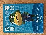 Amiibo Card Animal Crossing Happy Home Design Card KAPP'N 005/100 SP by Nintendo