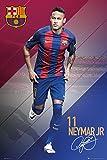 Close Up FC Barcelona Poster Neymar (61cm x 91,5cm)