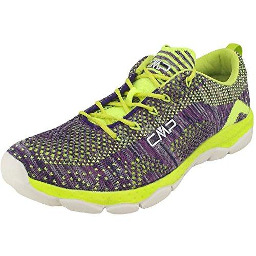 CMP Butterfly Nebula 3Q95076 Damen Fitness-Sneaker violett/lime (malva/acido)