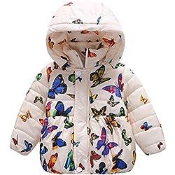 Bobora Ropa De Invierno Estampado De Mariposa Para Bebes