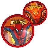 Enfants Lampe–Disney–Lampe Murale pour enfant–Magic Push Light Veilleuse avec motif au choix Spiderman