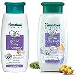 Himalaya Baby Shampoo (400 ml) and Gentle Bath (400ml) Combo