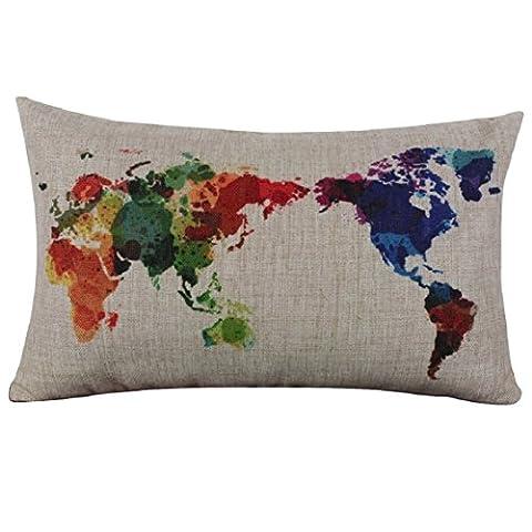 La Maison Et Le Monde - Culater® Carte du Monde Linge de Maison