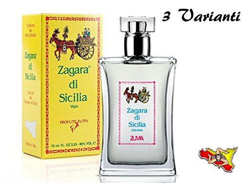 ZAGARA DI SICILIA ' ZUMA 'COLONIA SPRAY 30 ml / 50 ml / 100 ml PROFUMO (30 ML)