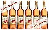 WERDER 6 x Rhabarber Wein 0,75 l Alk. 8,5 % vol
