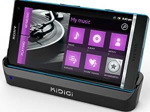 "KiDiGi - Station d'accueil ""Cover Mate"" USB pour Sony Xperia S (LCC-SXPS)"