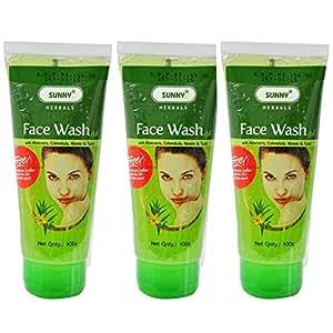 Bakson Sunny Face Wash Gel - 300 g, (Pack Of 3)