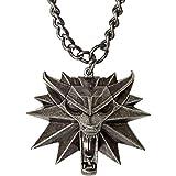 Witcher 3 Medaillon mit Kette Wild Hunt Logo Metall