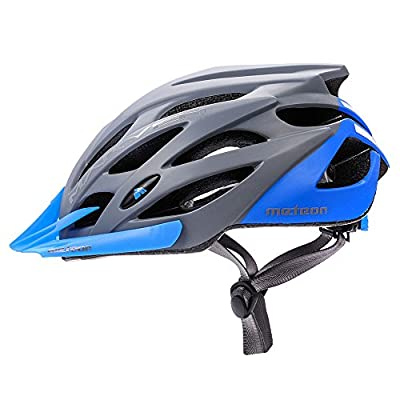 Meteor® Bike Bicycle Cycle Cycling Helmet Marven: Mens & Youths Helmet Bicycle Helmet Cycling–Hoverboard, InLine Skate, BMX Bike, Scooter. Developed for the safety of the tiniest User: The Helmet Circuit Certificate–89/686/EEC and has a conti
