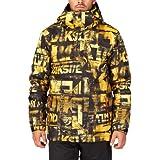 Quiksilver Men's Mission 10K AOP Leftover Snow Jacket