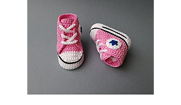 Crochet Pattern Baby Converse All Star Baby Sneakers Ebook Paula