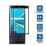 BlackBerry Priv proteggi schermo, AVIDET-Proteggi schermo Premium in vetro temperato per BlackBerry Priv (0,3 mm), livello di resistenza 9H