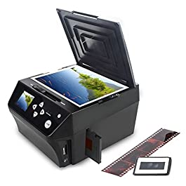 DIGITNOW HD 22MP Foto e film digitalizzatore Immagini Combo scanner multifunzione, include una scheda di memoria da 8 GB gratuita! | Converti foto e filmati in file JPG digitali
