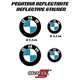 PEGATINA STICKER ADESIVO AUFKLEBER DECALS AUTOCOLLANTS BMW REFLECTANTE MOTO COCHE VINILO ALTA...