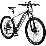 REMINGTON Rear Drive MTB E-Bike Mountainbike Pedelec, Farbe:Weiss