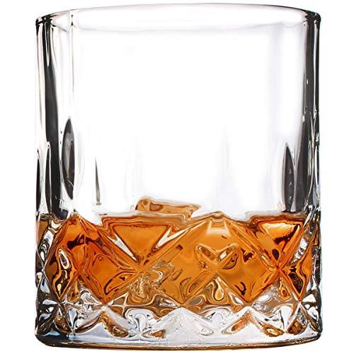 Classic Double Old Fashioned (dobaccio Whiskey Gläser-Classic Kristall klar Glas trinken Tassen-Set von 4)