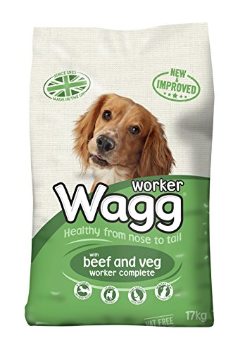 Wagg Worker Beef and Veg Dry Complete Dog Food, 16 kg