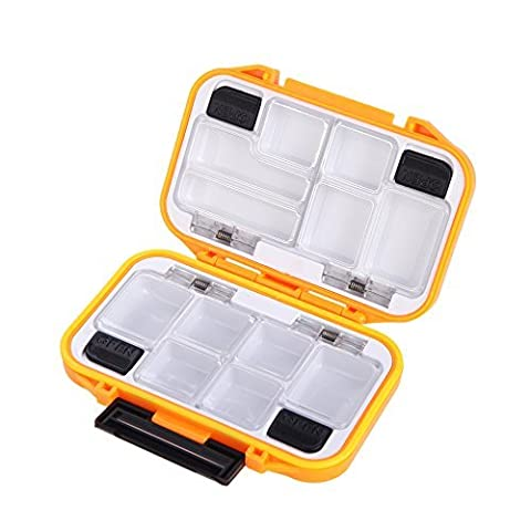 EverTrust(TM) UK 12 Compartments Waterproof Storage Case
