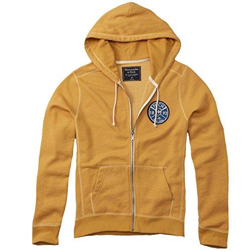 abercrombie-mens-graphic-full-zip-hoodie-fleece-sweatshirt-hoody-size-m-yellow-624680770
