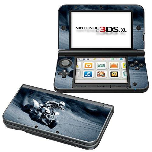 Extreme Sport 028, Quad, Design folie Sticker Skin Aufkleber Schutzfolie mit Farbenfrohe Design für Nintendo 3DS XL (2012) Designfolie
